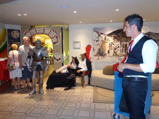 Club Lipari Hotel : animateurs
