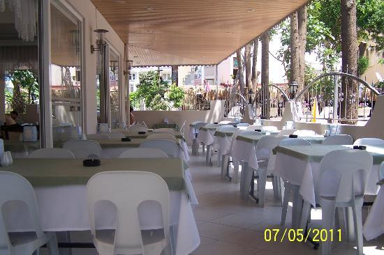 Kleopatra Life: dining area