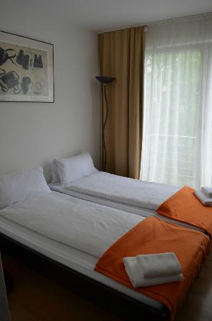 Aparotel Berlin: Our room - double room with kitchenette