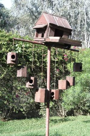 Sentrim Nairobi Boulevard Hotel: The birdhouse in the garden!