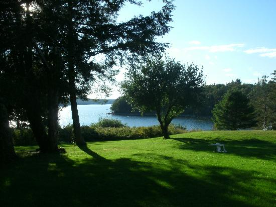 The Surry Inn: This gorgeous view of Contention Cove remains unchanged in the 32 years we have owned the Surry