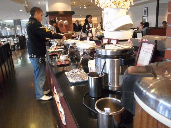 Kitchen Room Shiki: ランチビュッフェ