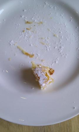 The Hackney Pearl: Almond cake disappeared fast!