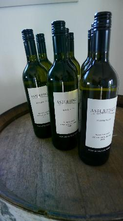 Ash Ridge Winery: Some nice wines at Ash Ridge