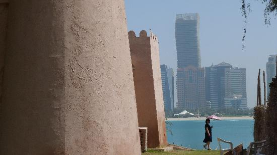 Emirate of Abu Dhabi, United Arab Emirates: Vista desde el Heritage Village