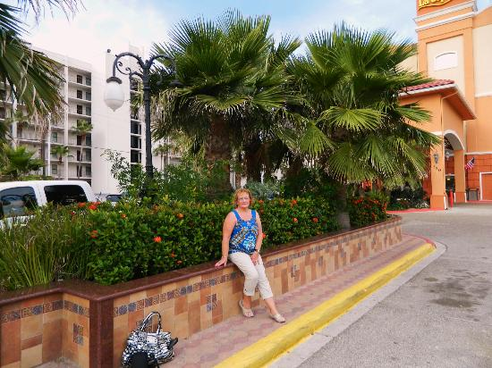 La Copa Inn Beach Hotel: This is more of the landscaping and grounds work.