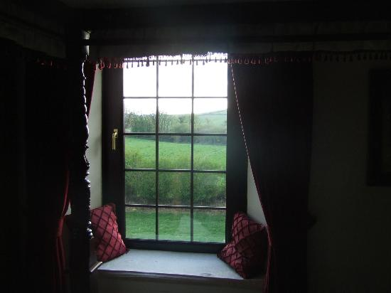 Talskiddy, UK: Views from the bedroom are suberb