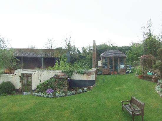 Pinn Barton Farm: garden took a belting in the high winds