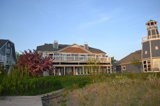 The Inn On Madeline Island View From Lake