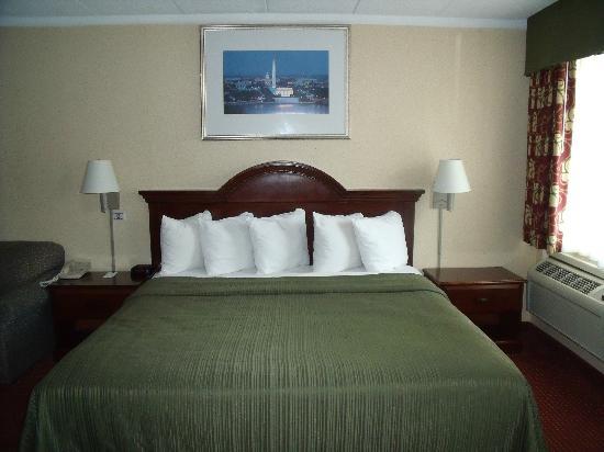 Quality Inn Mount Vernon: King Bed