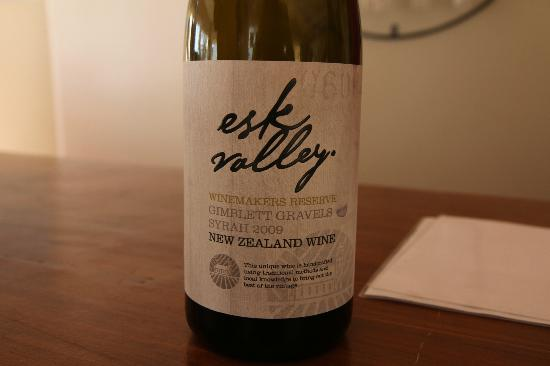 Esk Valley Winery: Reserve Syrah 2009 - Nice wine