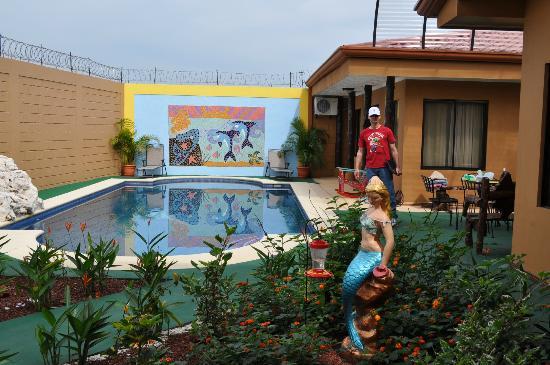 Casa Marin B&B : Pool area