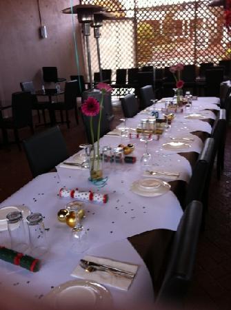 Origin Indian Tandoori Restaurant: function in our varandah dining