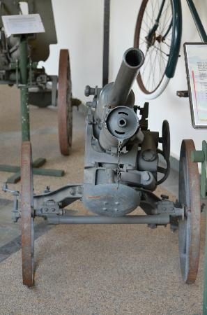 Army Museum: old cannon