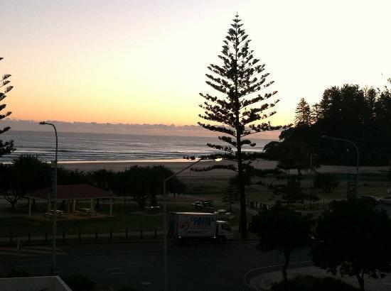 Oaks Calypso Plaza Resort: View of beach from room