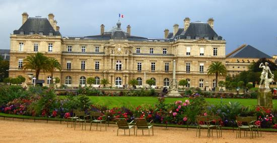 Hotel Saint Paul Rive Gauche: Luxembourg gardens nearby