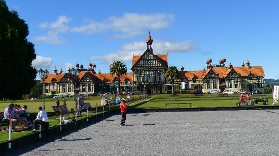 Rotorua Museum at Government Gardens
