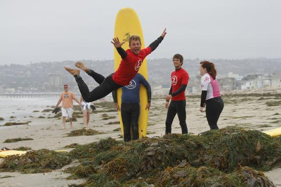 Pacific Surf School Instructor