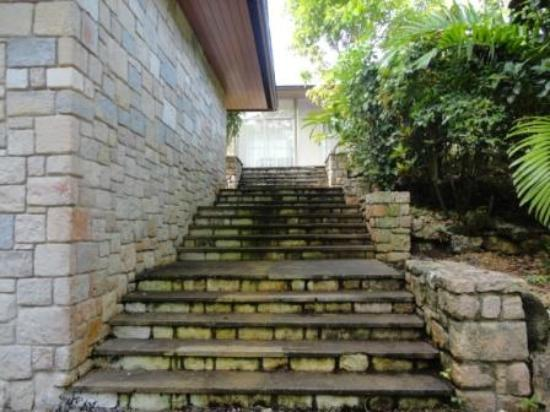 Frenchman's Cove Resort: Entrance steps to Villa #2 (3 Bedrm)