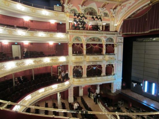 Opera Wroclaw: Zuschauerraum