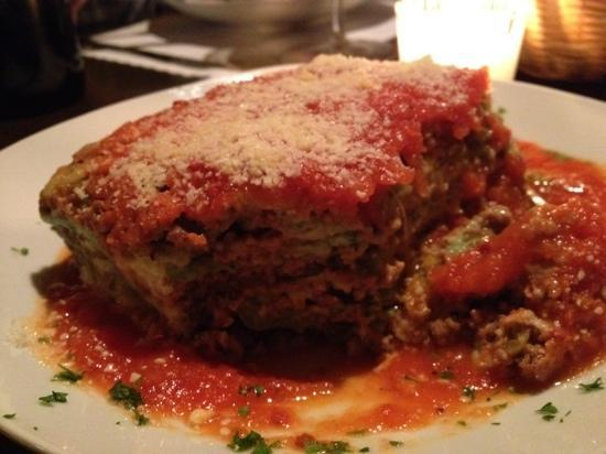 Invita Bistro: a special lasagne like the owners grandma used to make.