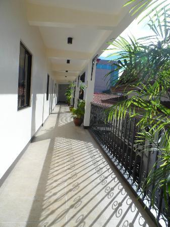 Legaspi Suites: outside the room