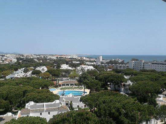 Holiday Village Algarve Balaia: View from our balcony