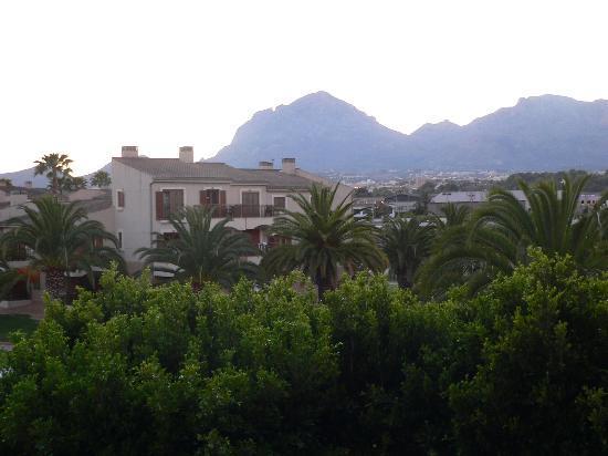 Albir Garden Resort: Uitzicht