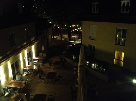 Hotel Prinzregent : The inner yard of the hotel