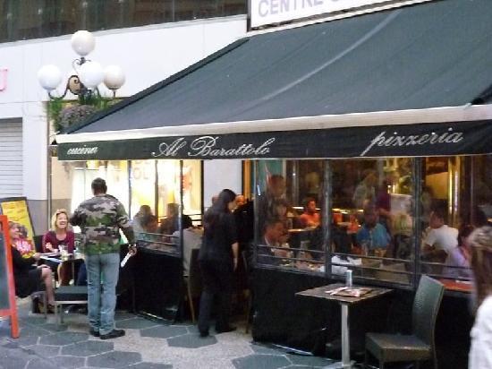 Al Barattolo: das Lokal von außen