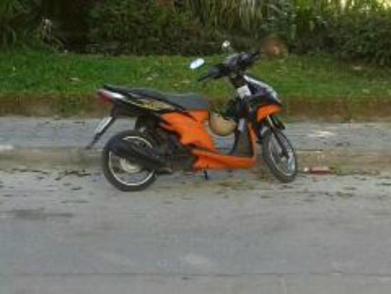 Baan Rom Mai: mopeds for hire