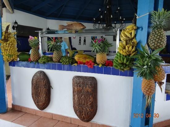 Andilana Beach Resort: le restaurant pili pili