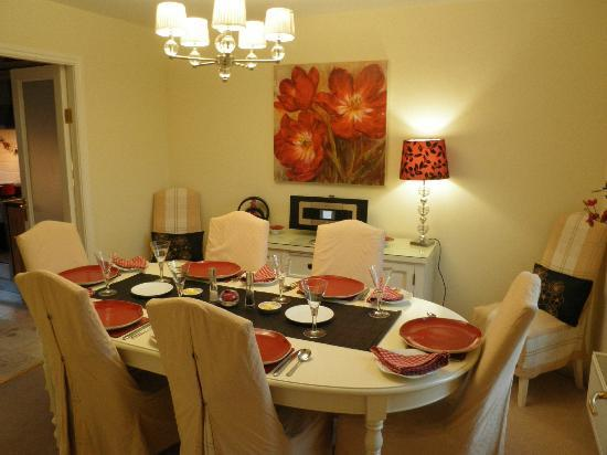 Penny Lodge Bed & Breakfast: Dining room for breakfast