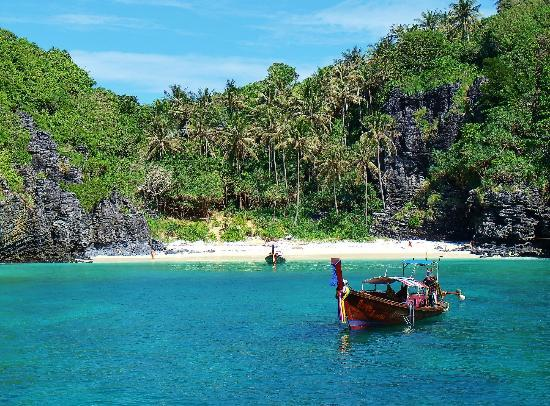 Ko Phi Phi Don, Tailandia: plage de ko phi phi