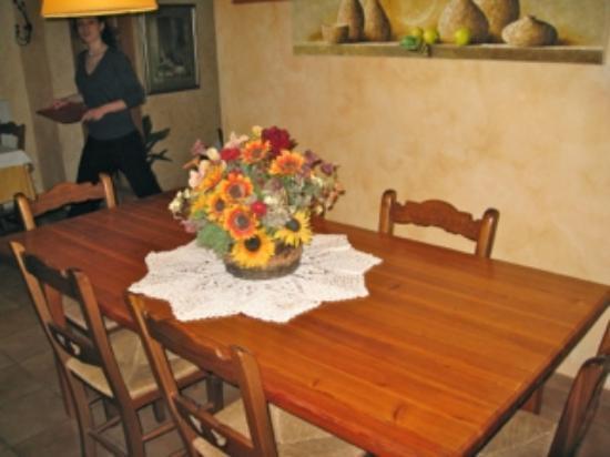 El Moli de Siurana: Conference tabel