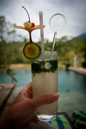 Surya Shanti Villa: cocktail time!
