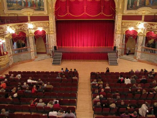 Royal Hall Theatre: Inside