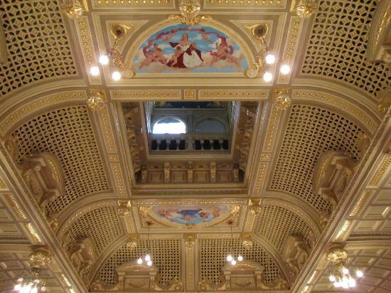 Royal Hall Theatre: inside