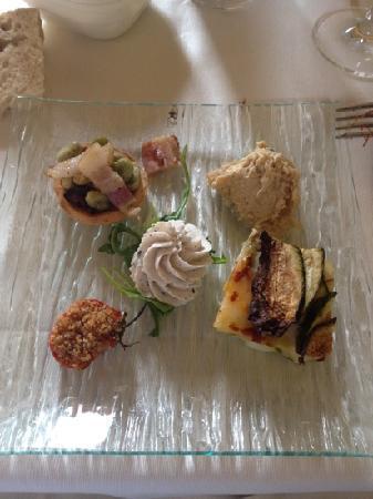 Hosteria Le Gourmet : antipasto