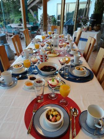 Chalet Romantica: Het ontbijd