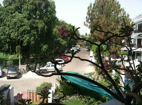 Ahuja Residency Golf Links: View from first-floor terrace