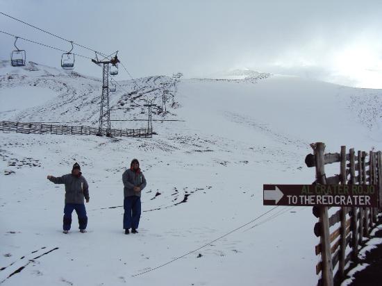 Canales del Sur: Dia de pouca neve no Osorno