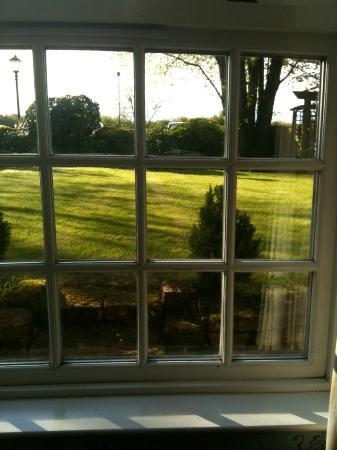 The Gretna Chase Hotel: View from Paulo & Francesca Room - courtyard - gorgeous