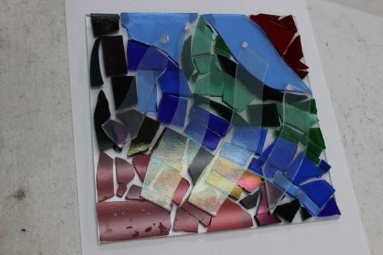 The Glass Palette - Interactive Glass Art Studio: this will be a bowl