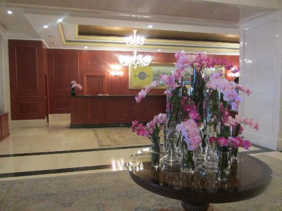 The Ritz-Carlton, Istanbul: Rezeptionsbereich