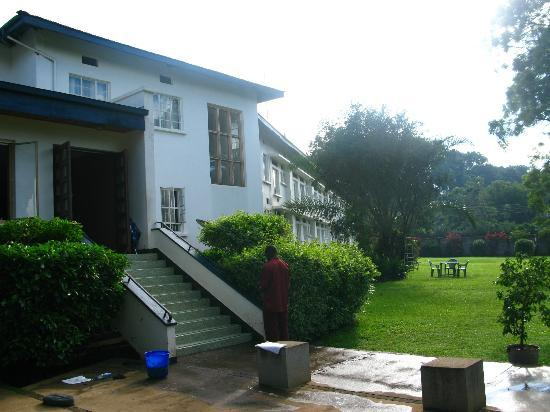 Mount Elgon Hotel: one wing of the hotel