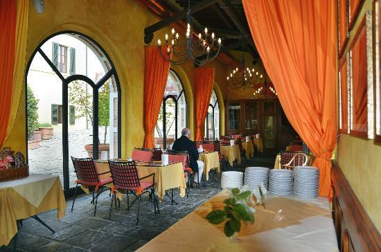 Dievole: Frühstückssaal