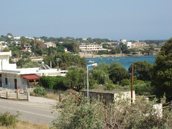 Palm Bay Hotel Studios: View from balcony