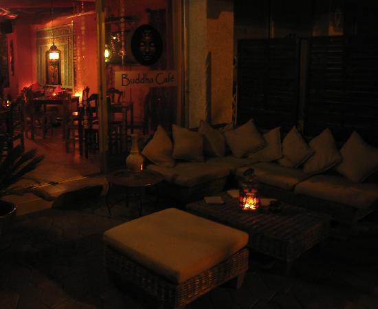 Buddha Cafe: The terrace at Buddha Café