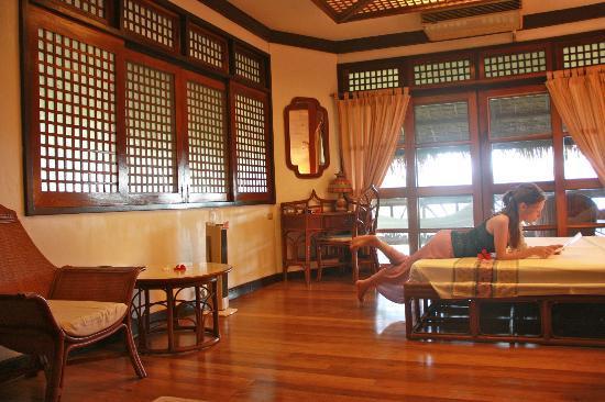 Badian Island Wellness Resort: accommodations